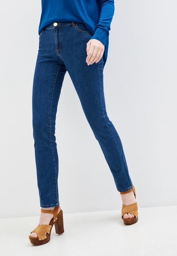 женские прямые джинсы trussardi, синие