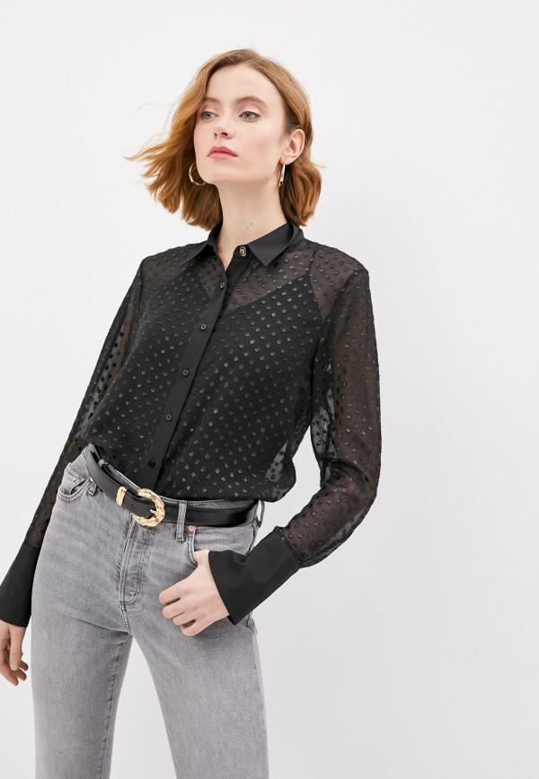 женская блузка trussardi, черная