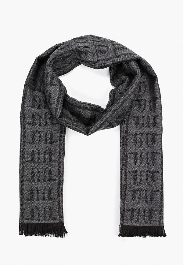 Фото - мужской шарф Trussardi Jeans серого цвета