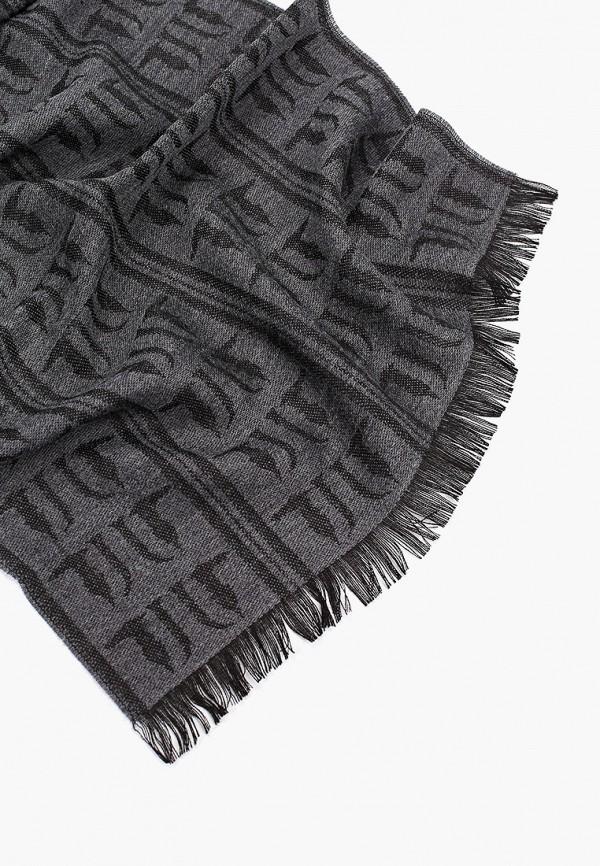 Фото 2 - мужской шарф Trussardi Jeans серого цвета