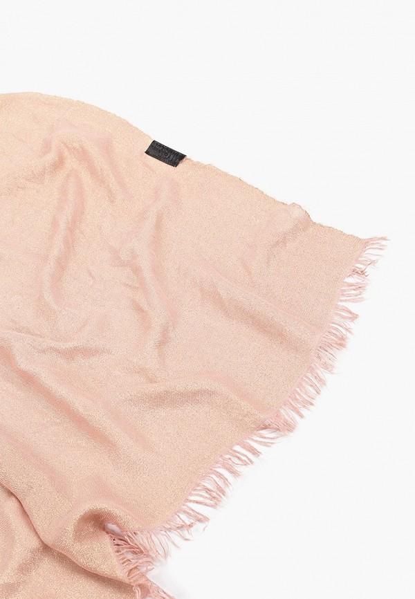 Фото 2 - женский палантин Trussardi Jeans золотого цвета