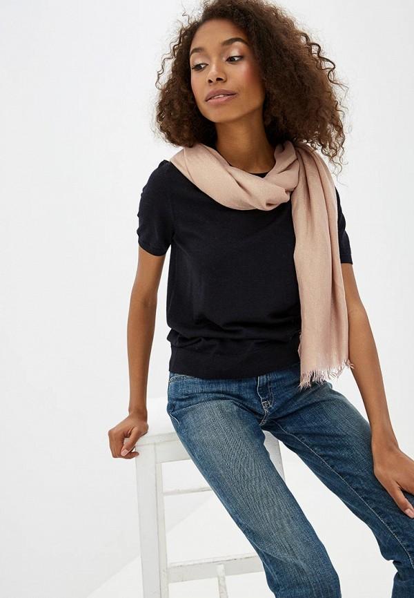 Фото 3 - женский палантин Trussardi Jeans золотого цвета