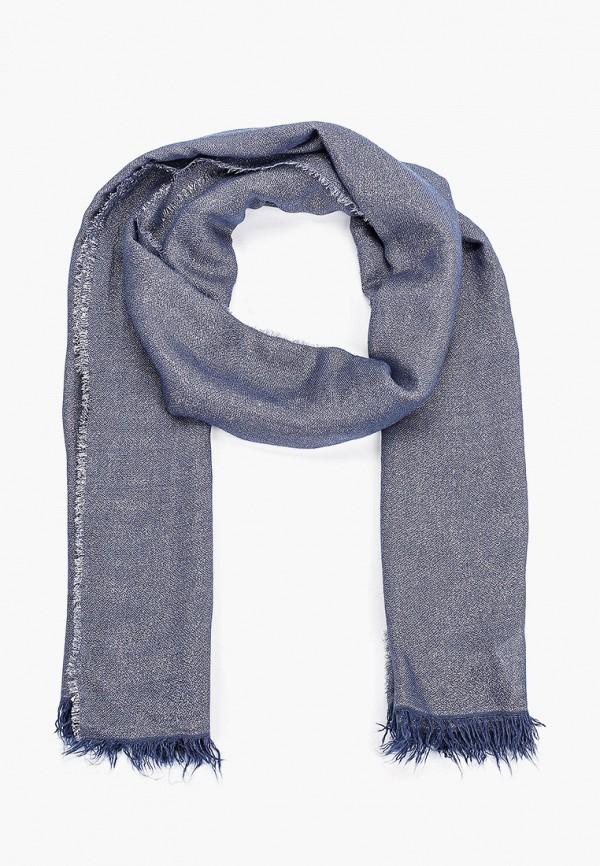 Фото - женский палантин Trussardi Jeans синего цвета
