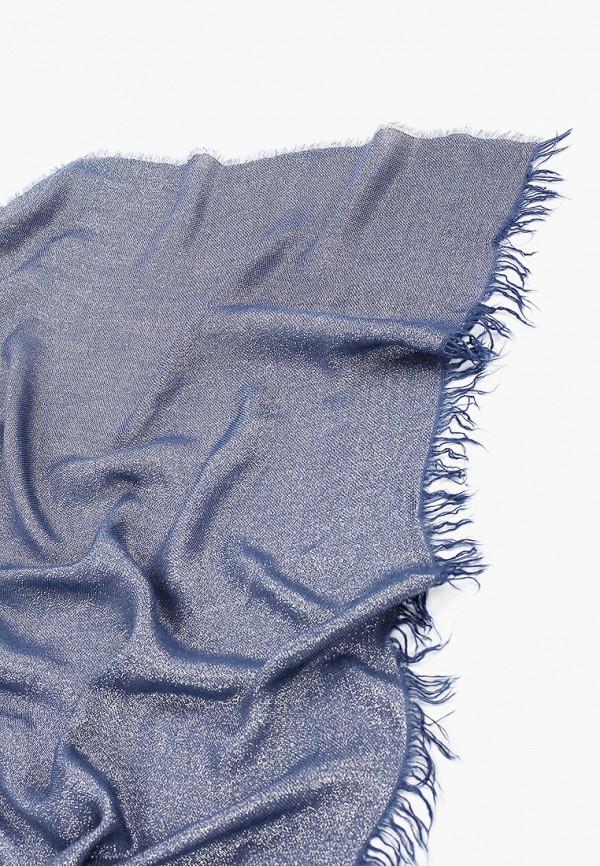 Фото 2 - женский палантин Trussardi Jeans синего цвета