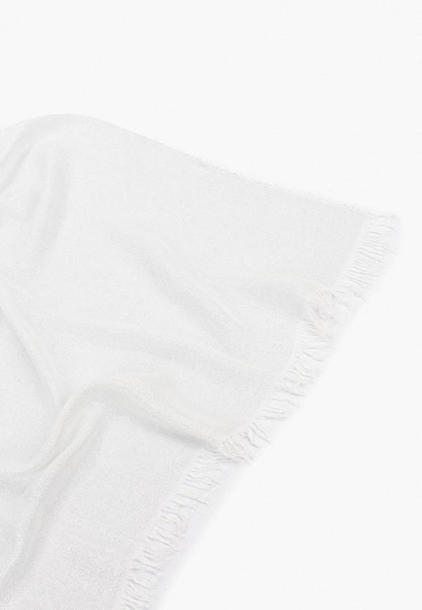 Фото 2 - женский палантин Trussardi Jeans серебрянного цвета