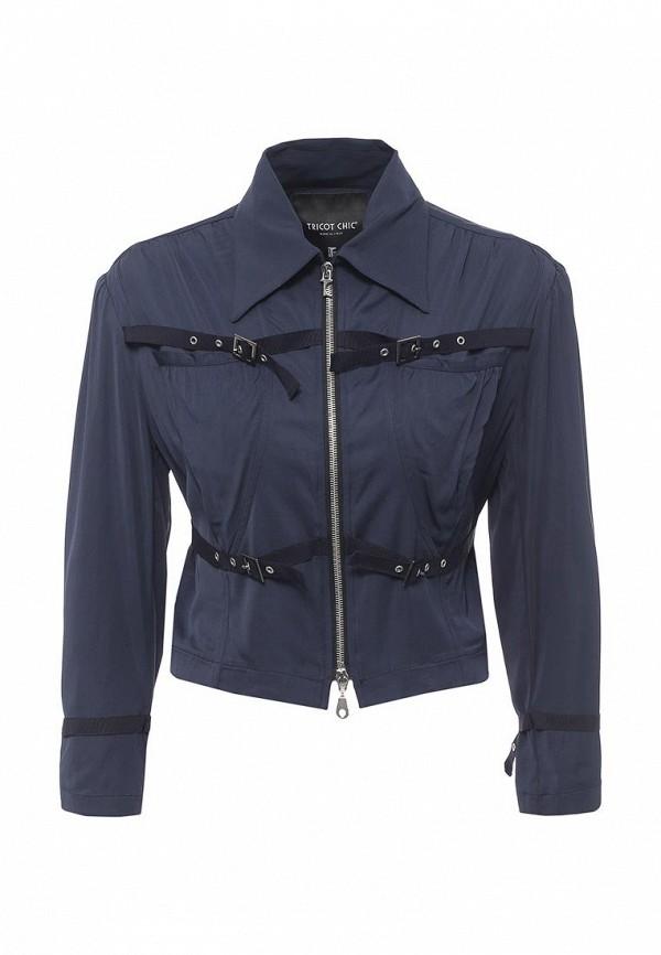 женский жакет tricot chic, синий