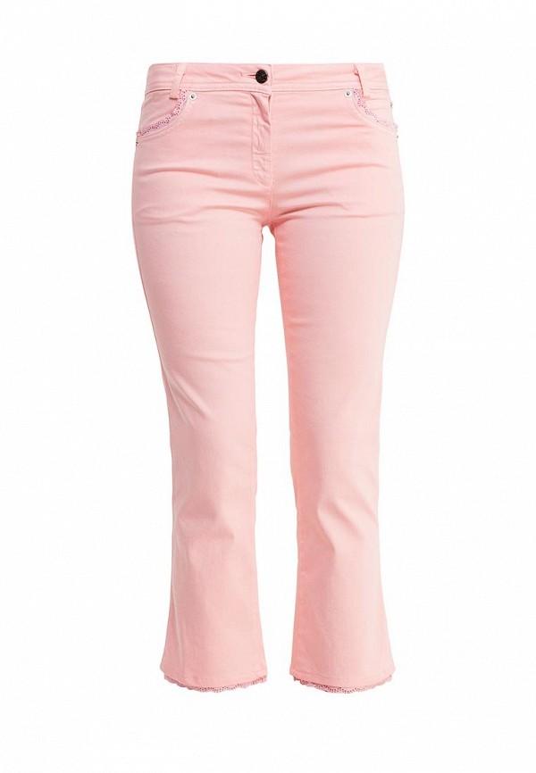 женские брюки tricot chic, розовые