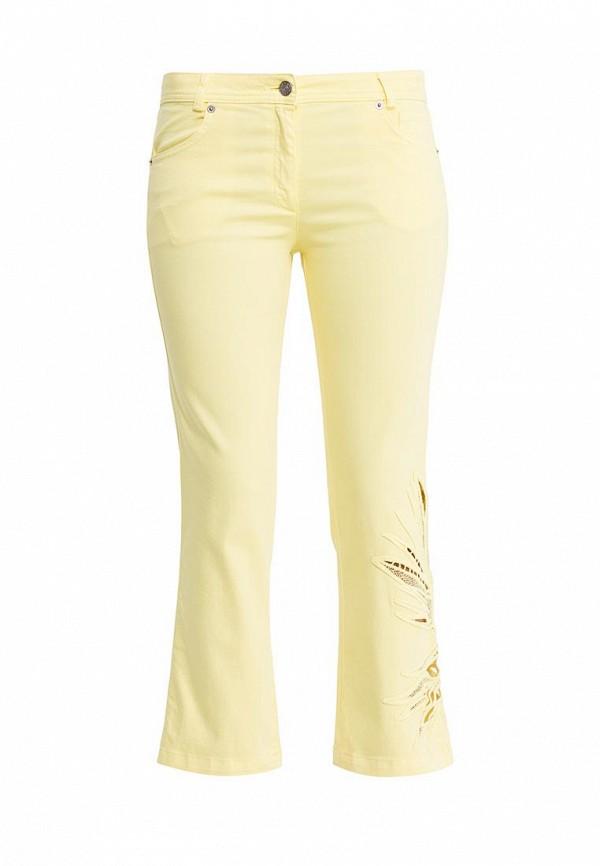 женские брюки tricot chic, желтые