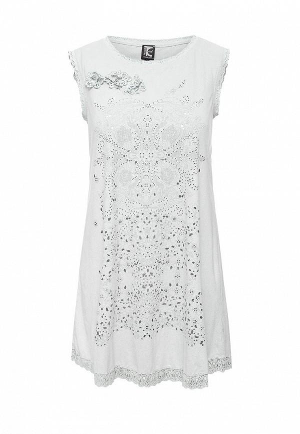 женское повседневные платье tricot chic, серое