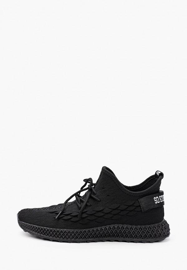 мужские кроссовки trien, черные