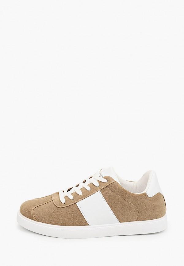мужские кроссовки trien, коричневые