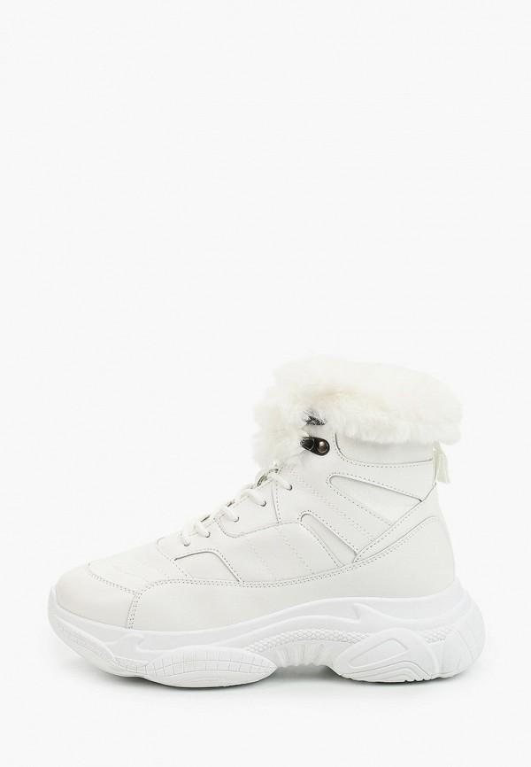 женские ботинки trien, белые