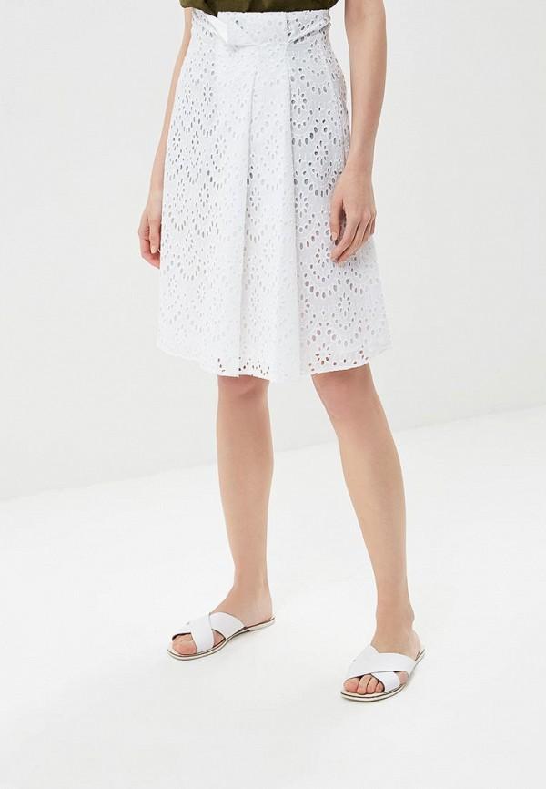женская прямые юбка trucco, белая