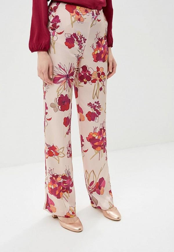 женские повседневные брюки trucco, розовые
