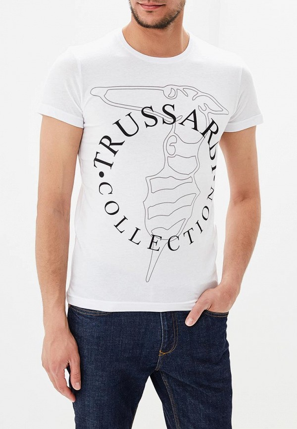Футболка Trussardi Collection Trussardi Collection TR031EMAWZT8 сумка trussardi collection trussardi collection tr031bwawyz1