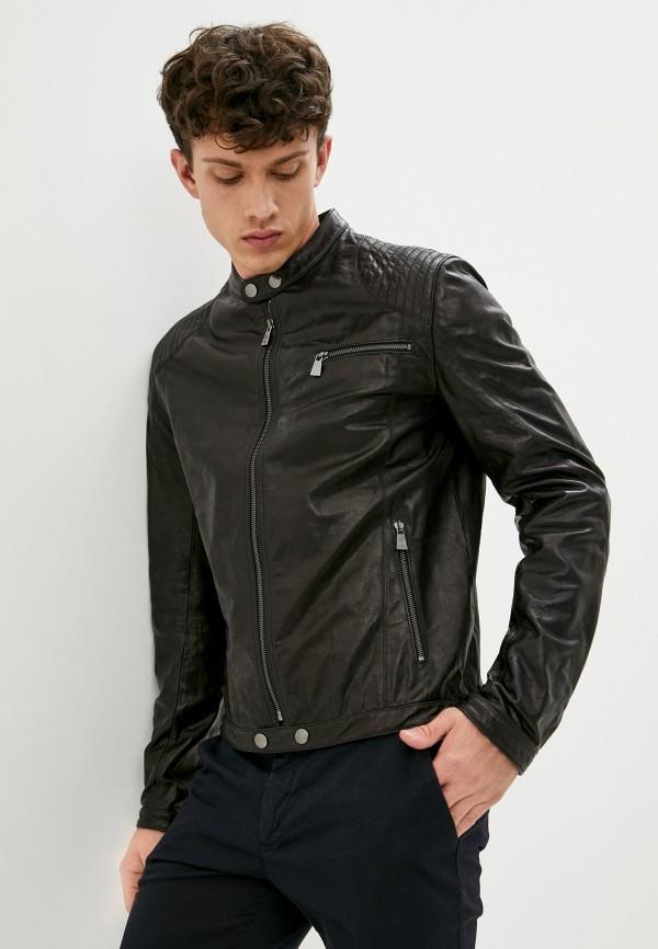 мужская куртка trussardi, черная