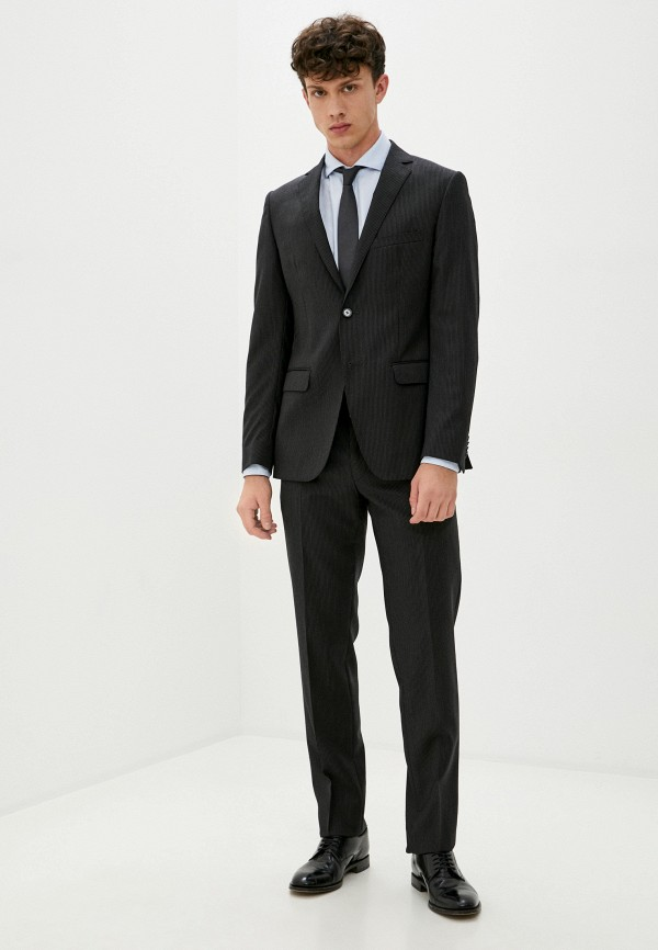 мужской костюм trussardi, черный