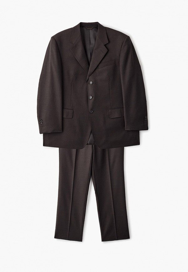 мужской классические костюм trussardi, коричневый