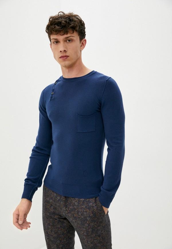 мужской джемпер trussardi, синий