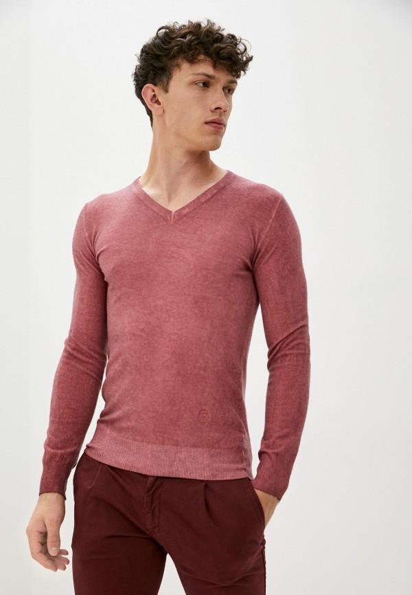 мужской пуловер trussardi, красный