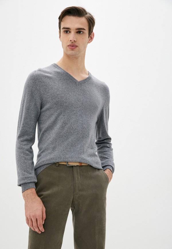 мужской пуловер trussardi, серый