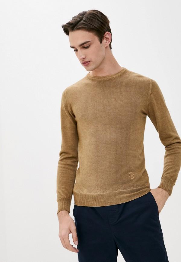 мужской джемпер trussardi, коричневый