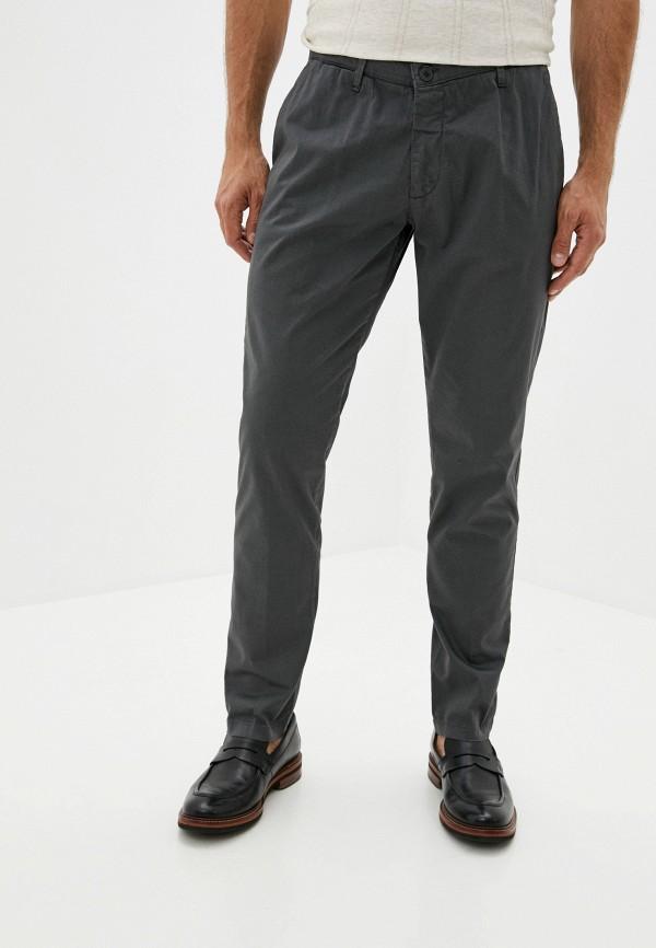 мужские брюки чинос trussardi, серые