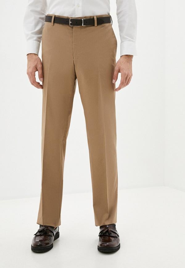 мужские классические брюки trussardi, бежевые