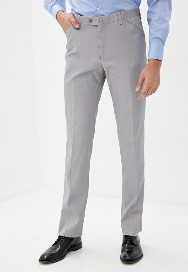 мужские классические брюки trussardi, серые