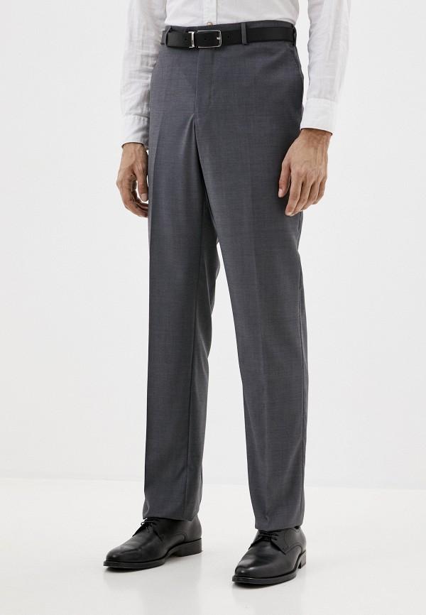 мужские прямые брюки trussardi, серые