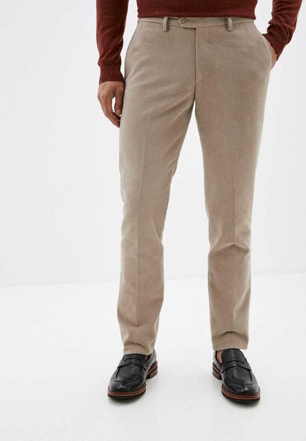мужские брюки чинос trussardi, бежевые