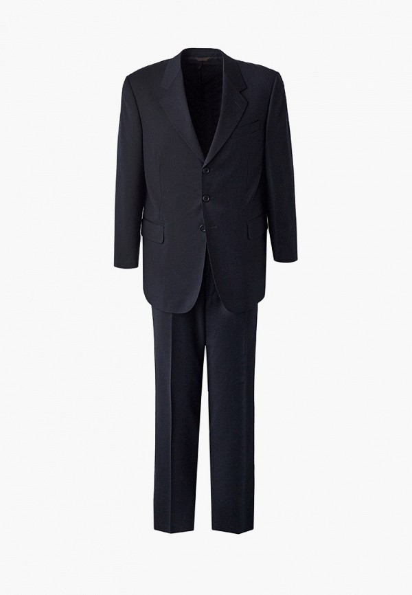 мужской костюм trussardi, синий
