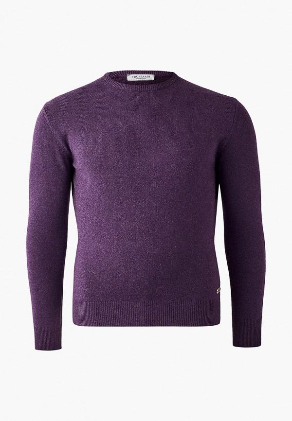 мужской джемпер trussardi, фиолетовый