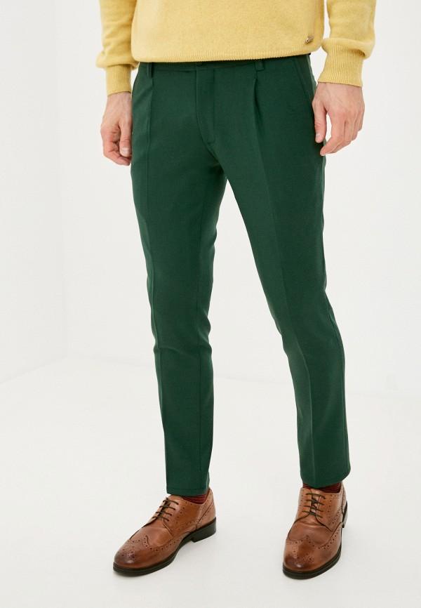 мужские классические брюки trussardi, зеленые