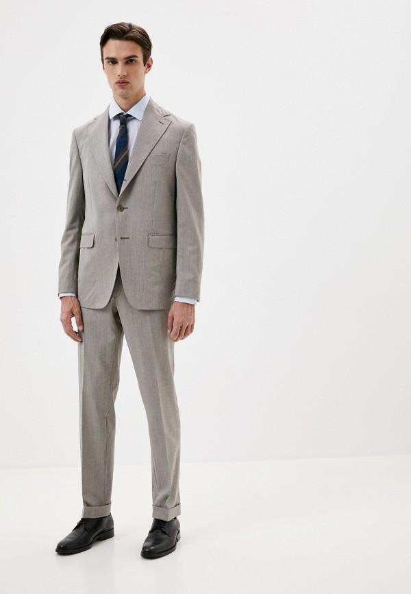 мужской костюм trussardi, серый