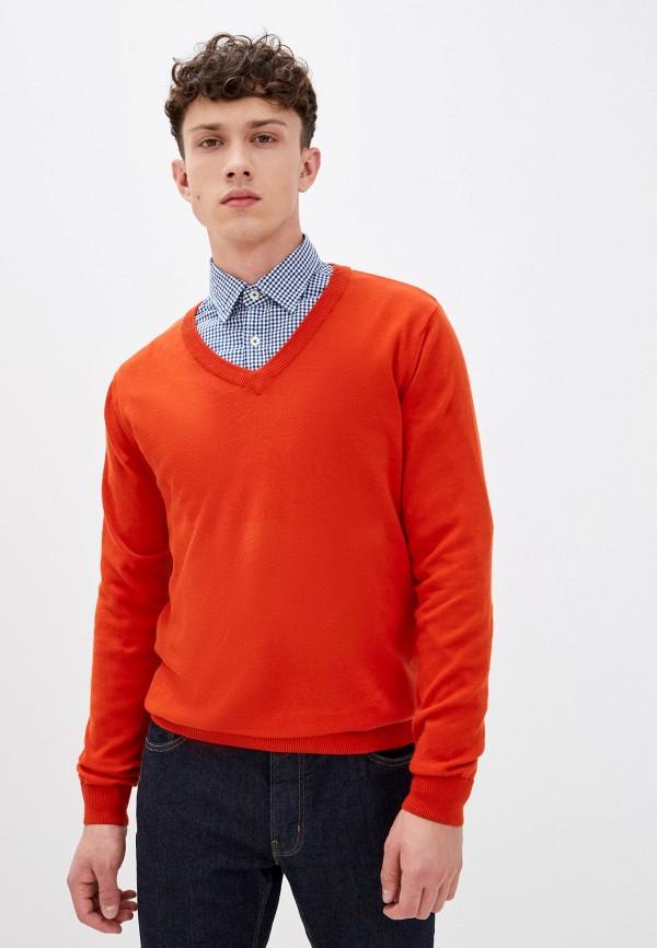 мужской пуловер trussardi, оранжевый