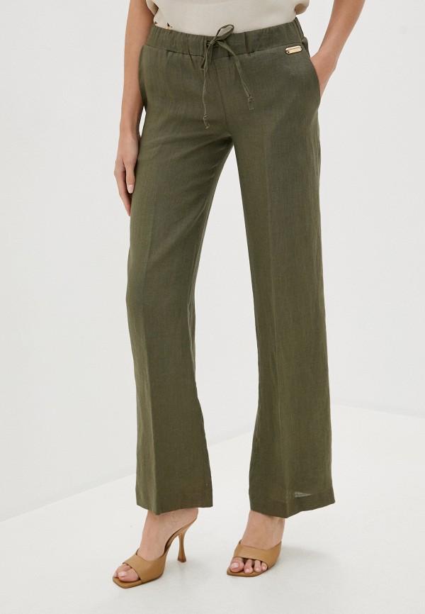 женские брюки trussardi, хаки