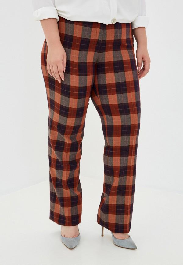 женские прямые брюки trussardi, разноцветные