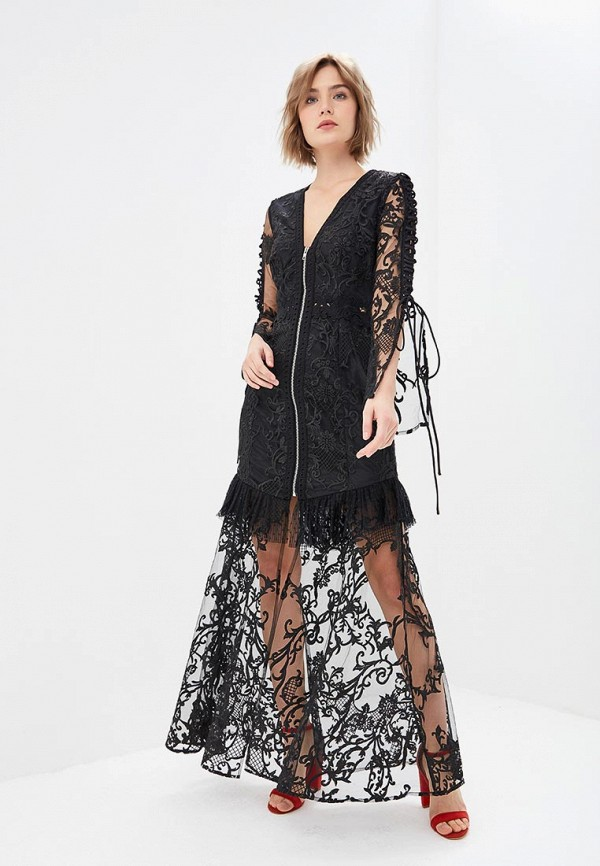 Платье True Decadence True Decadence TR033EWCCEF2 брелок true utility styluspen цвет черный