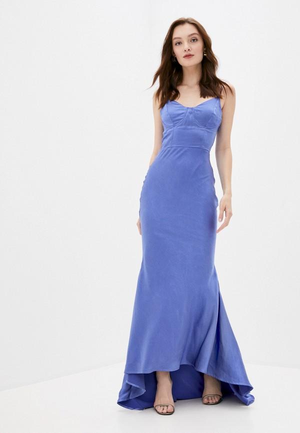 женское платье true decadence, синее