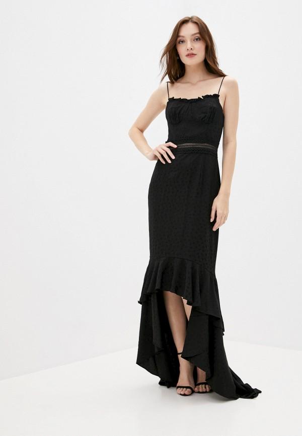 женское вечерние платье true decadence, черное