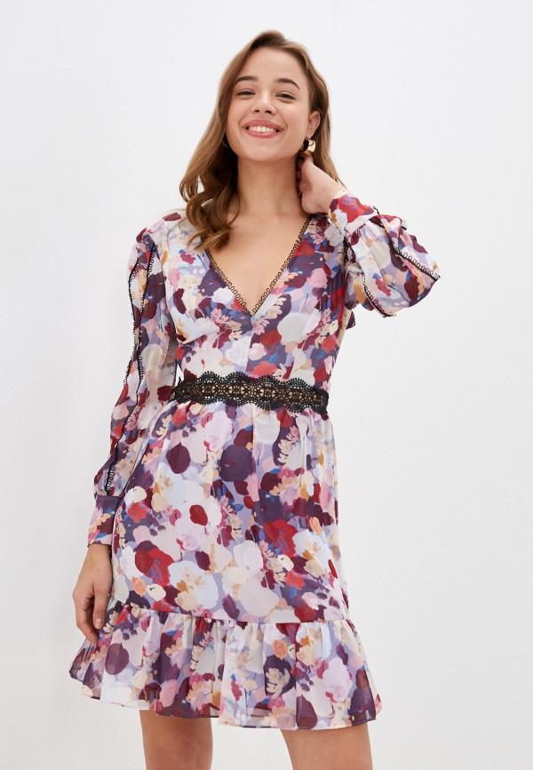 женское повседневные платье true decadence, разноцветное
