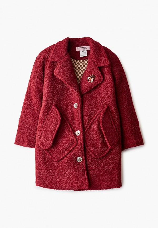Пальто TrendyAngel Baby TrendyAngel Baby TABSS20C0030 бордовый фото
