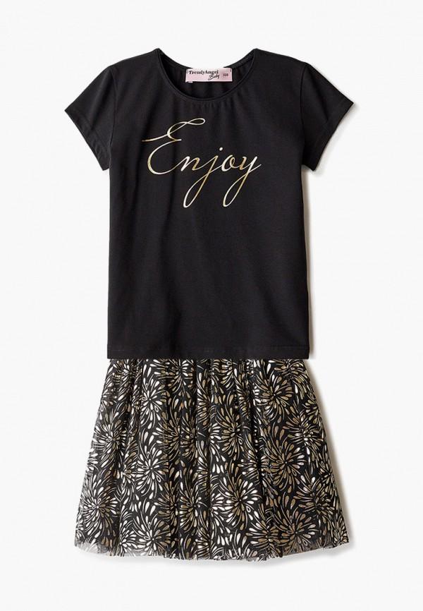 юбка trendyangel baby для девочки, черная