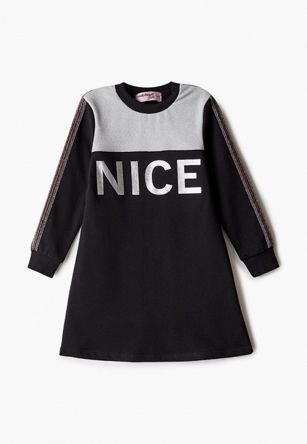 повседневные платье trendyangel baby для девочки, черное
