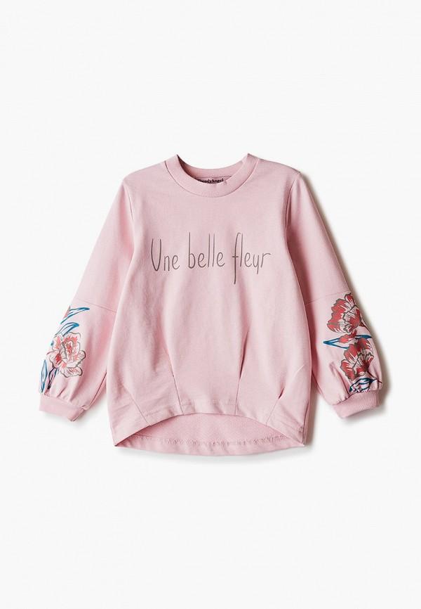 свитшот trendyangel baby для девочки, розовый