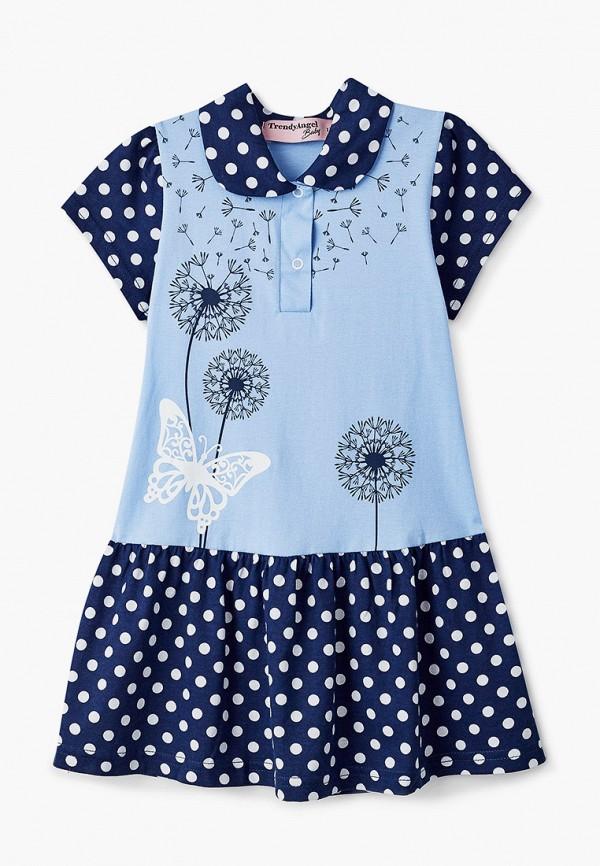 повседневные платье trendyangel baby для девочки, голубое