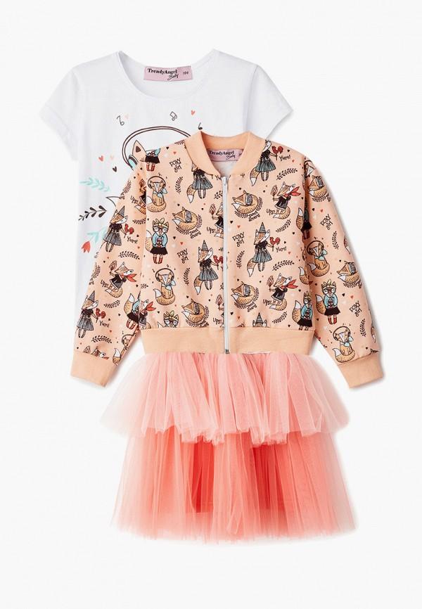 костюм trendyangel baby для девочки, разноцветный