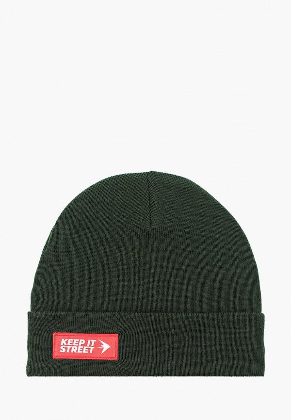 женская шапка trailhead, зеленая