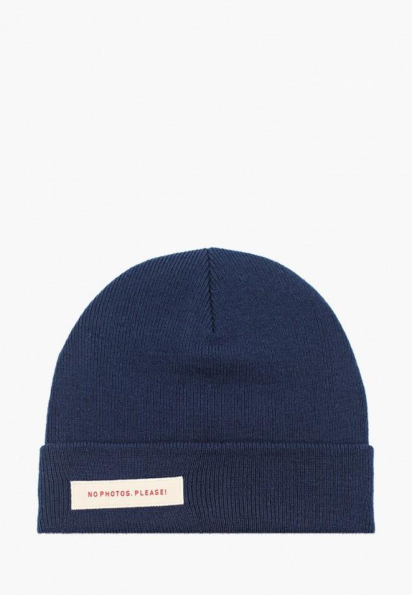 женская шапка trailhead, синяя